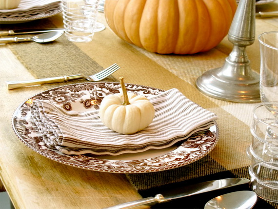 Beautiful Thanksgiving Fall Table Settings And Centerpiece Decor Ideas To Make _10