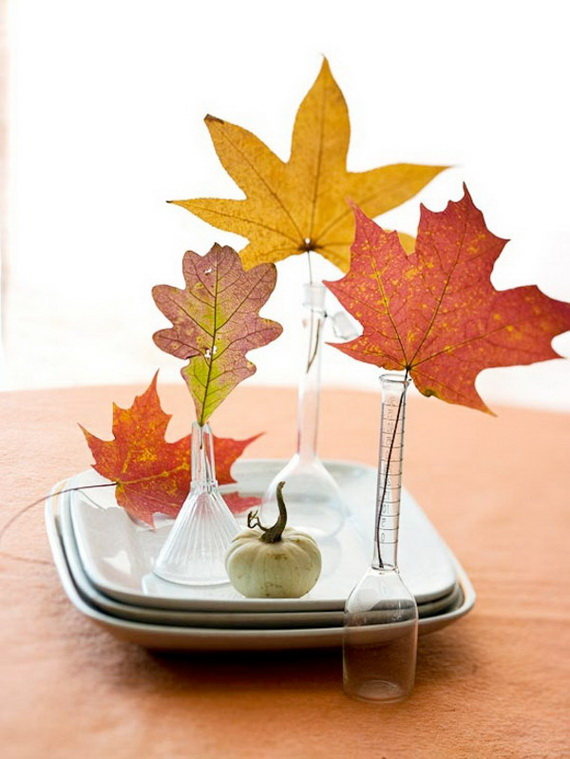 Beautiful Thanksgiving Fall Table Settings And Centerpiece Decor Ideas To Make _13