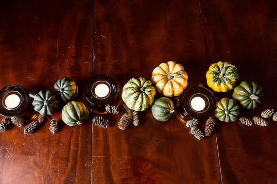 Beautiful Thanksgiving Fall Table Settings And Centerpiece Decor Ideas To Make _19