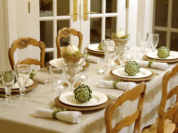 Beautiful Thanksgiving Fall Table Settings And Centerpiece Decor Ideas To Make _22