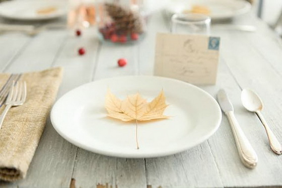 Beautiful Thanksgiving Fall Table Settings And Centerpiece Decor Ideas To Make _23