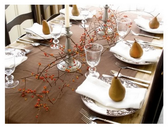 Beautiful Thanksgiving Fall Table Settings And Centerpiece Decor Ideas To Make _24