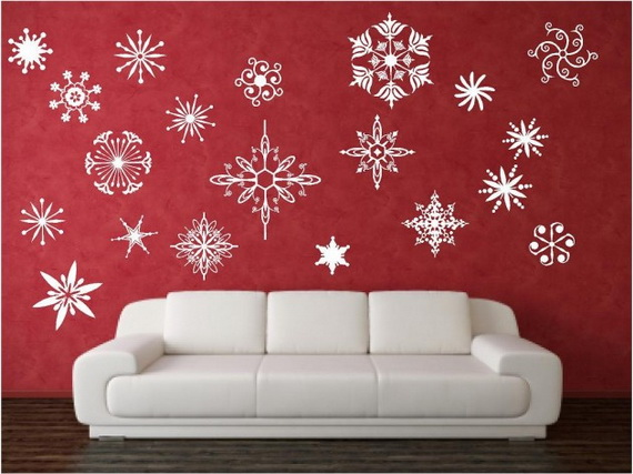 Creative Christmas Decor Ideas with Decals For a Holiday Atmosphere_32