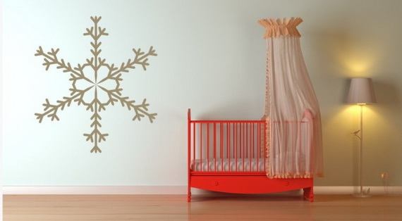 Creative Christmas Decor Ideas with Decals For a Holiday Atmosphere_48