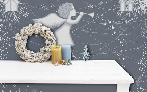 Creative Christmas Decor Ideas with Decals For a Holiday Atmosphere_59