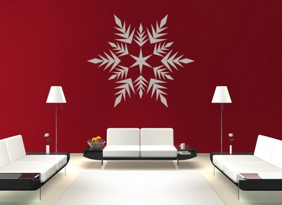 Creative Christmas Decor Ideas with Decals For a Holiday Atmosphere_60