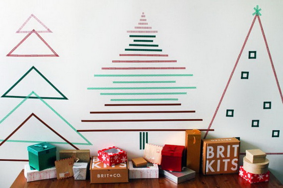 Creative Christmas Decor Ideas with Decals For a Holiday Atmosphere_76