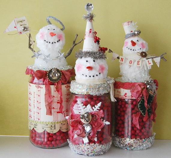Creative Homemade Christmas Crafts and Decoration Projects for Kids_28