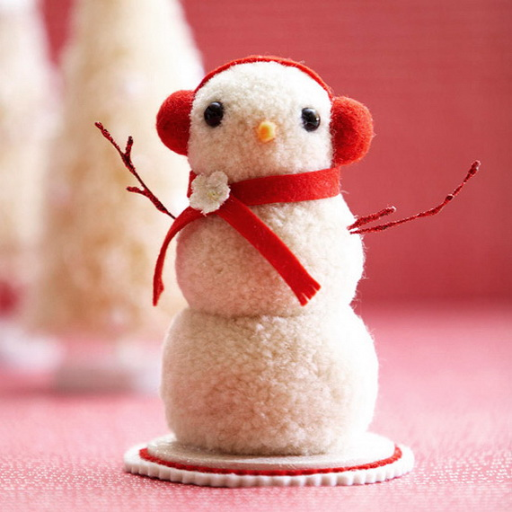 Creative Homemade Christmas Crafts and Decoration Projects for Kids_31