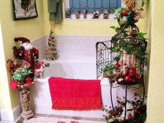 Cute Bathroom Decorating Ideas For Christmas - family holiday.net ...