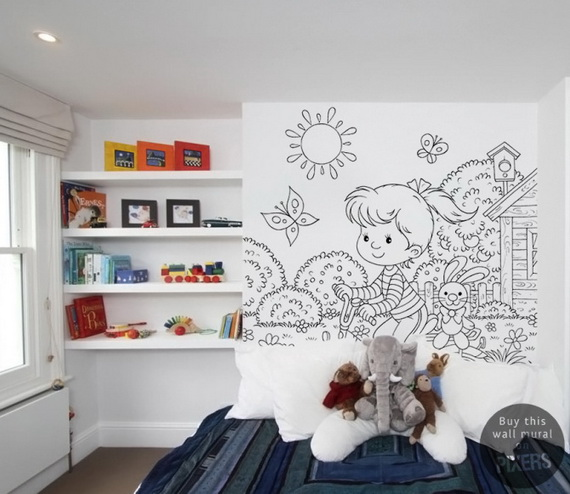 Cute and Fun Kids Wallpaper Designs_25
