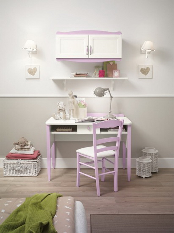 Inspirational Design Ideas for Kids Desks Spaces _07