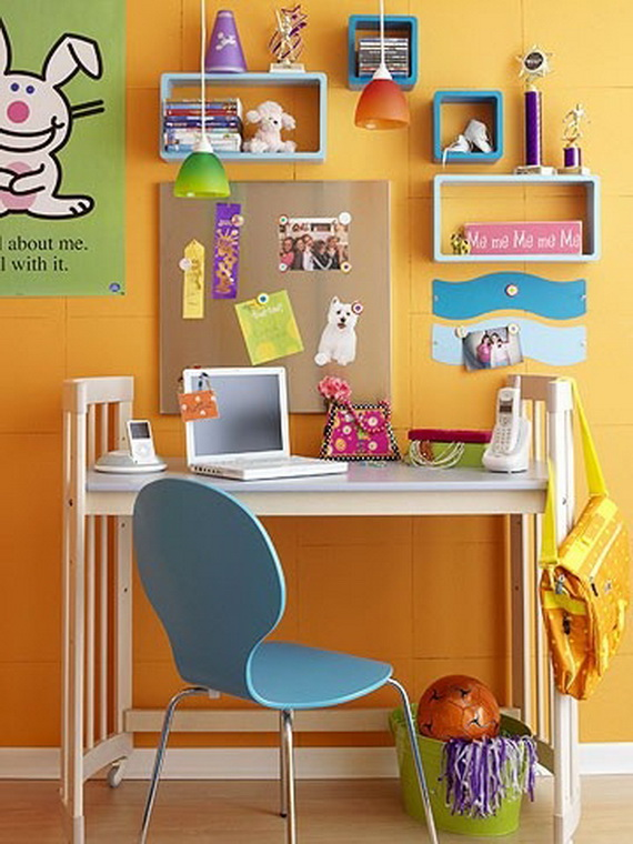 Inspirational Design Ideas for Kids Desks Spaces _09 (5)