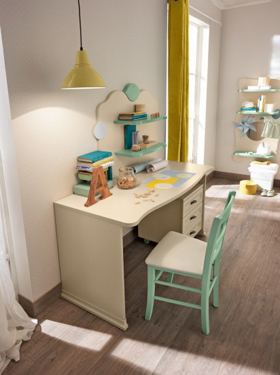Inspirational Design Ideas for Kids Desks Spaces _09