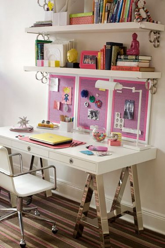 Inspirational Design Ideas for Kids Desks Spaces _20 (3)