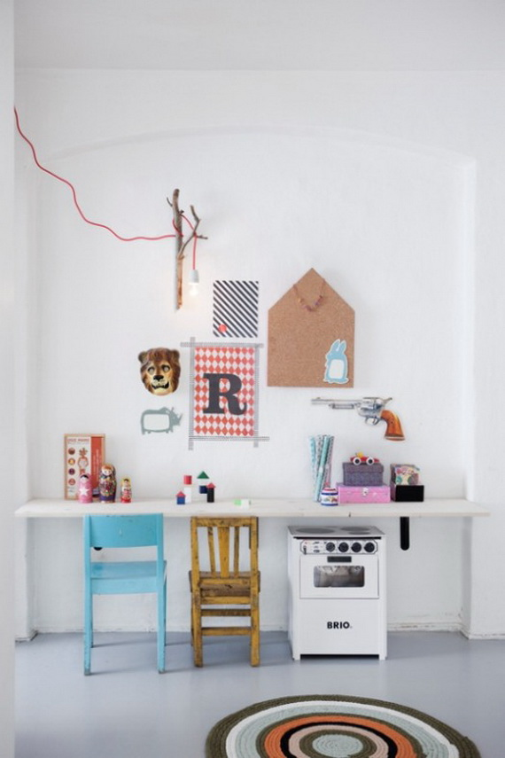 Inspirational Design Ideas for Kids Desks Spaces _25