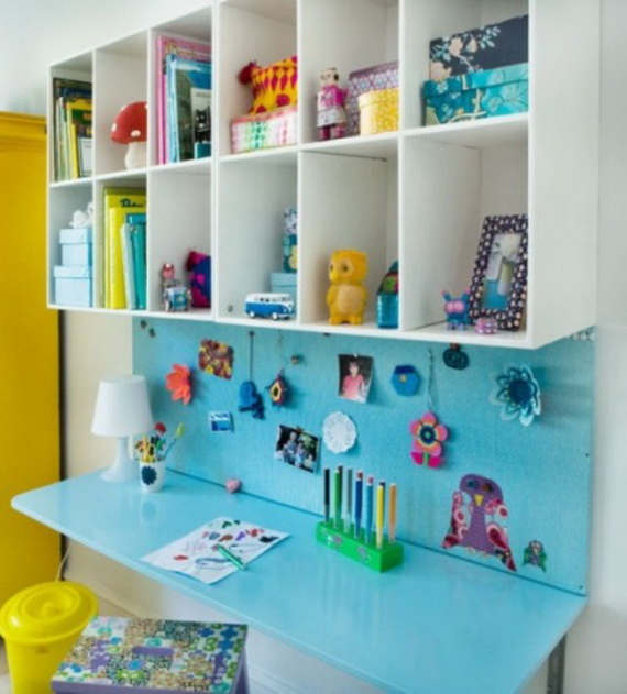 Inspirational Design Ideas for Kids Desks Spaces _29