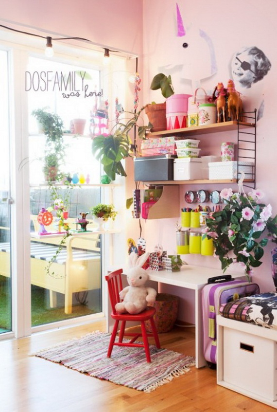 Inspirational Design Ideas for Kids Desks Spaces _31