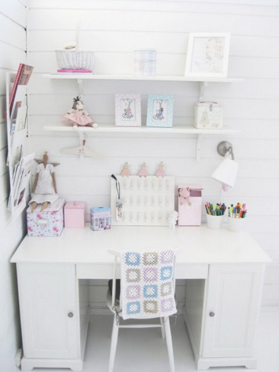 Inspirational Design Ideas for Kids Desks Spaces _35