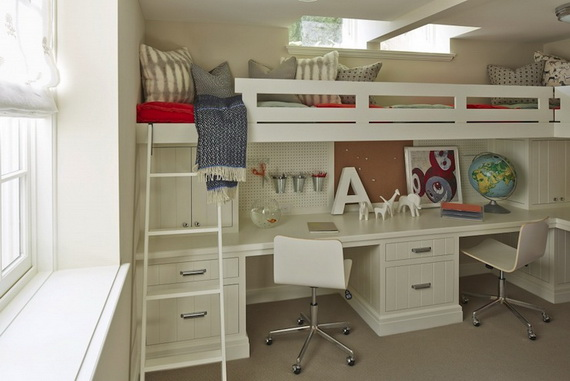 Inspirational Design Ideas for Kids Desks Spaces _6