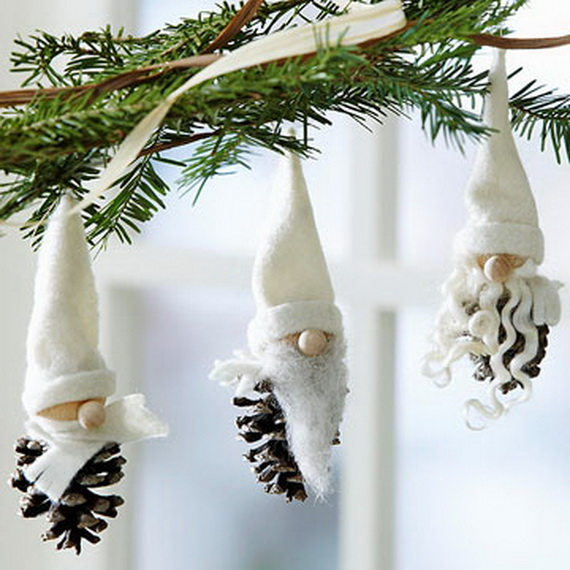 Magnificent Green And White Christmas Decorating Ideas _11