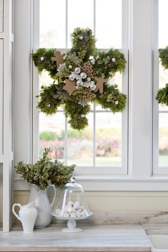 Magnificent Green And White Christmas Decorating Ideas _44