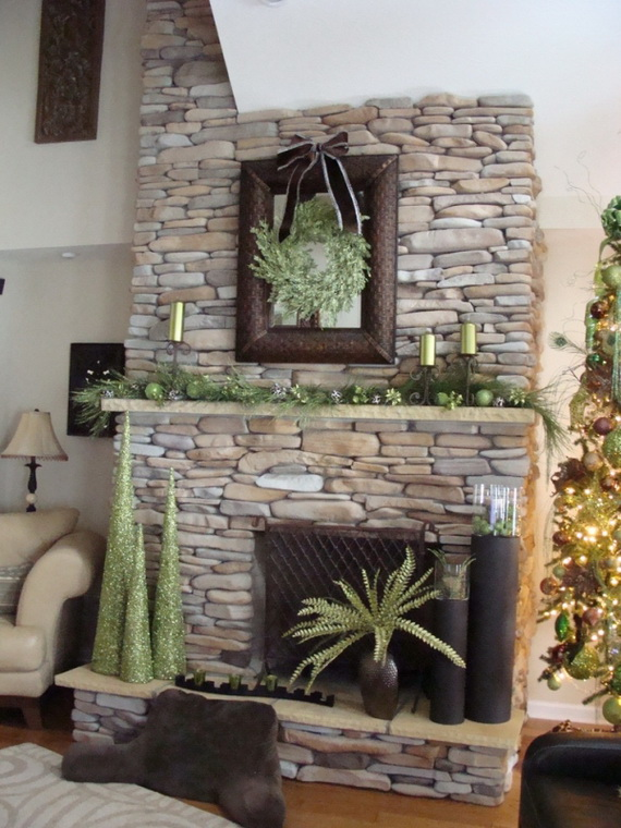 Magnificent Green And White Christmas Decorating Ideas _51