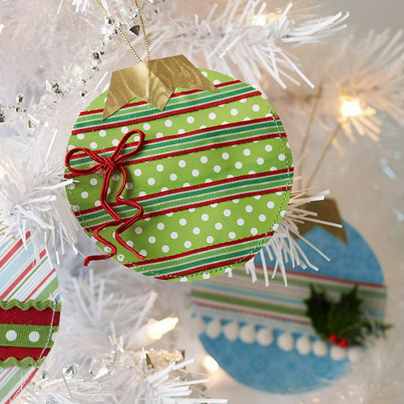 Pretty Paper Christmas Craft & Decoration Ideas_12