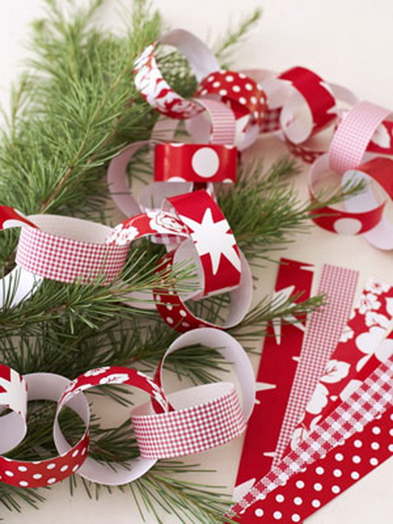 Pretty Paper Christmas Craft & Decoration Ideas_17