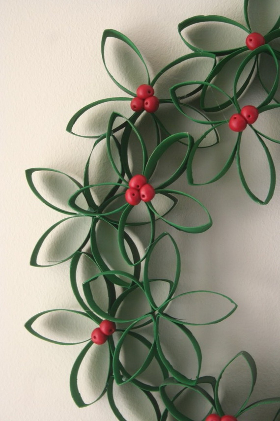 Pretty Paper Christmas Craft & Decoration Ideas_26