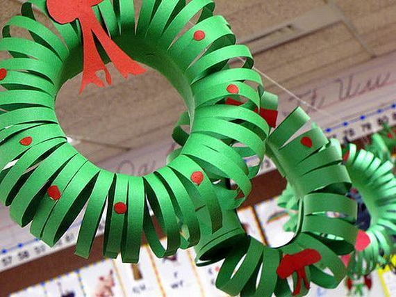 Pretty Paper Christmas Craft & Decoration Ideas_27