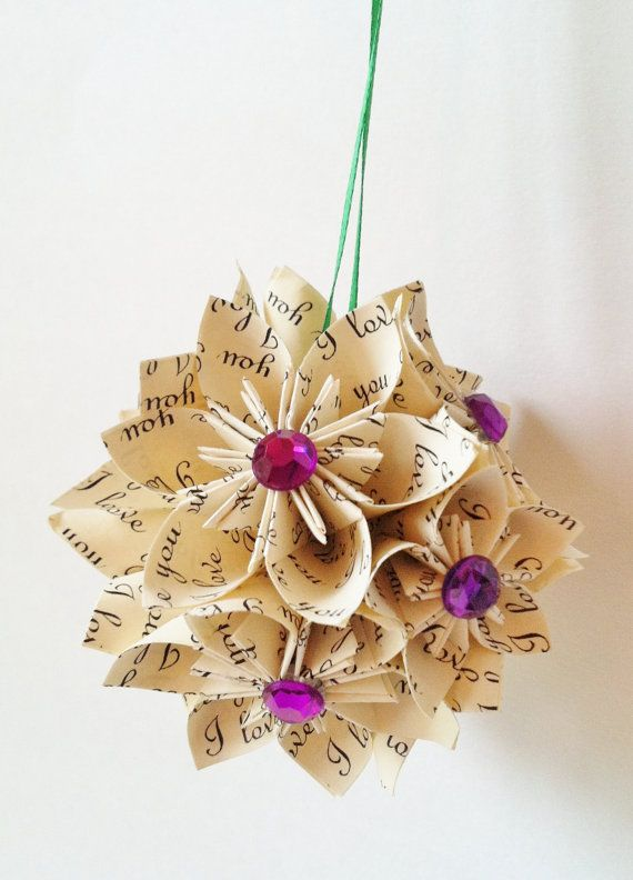 Pretty Paper Christmas Craft & Decoration Ideas_30