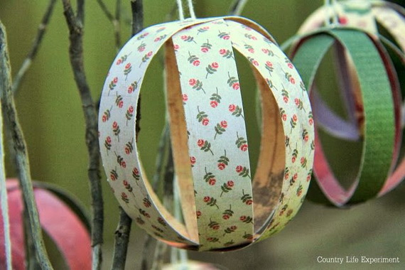Pretty Paper Christmas Craft & Decoration Ideas_34