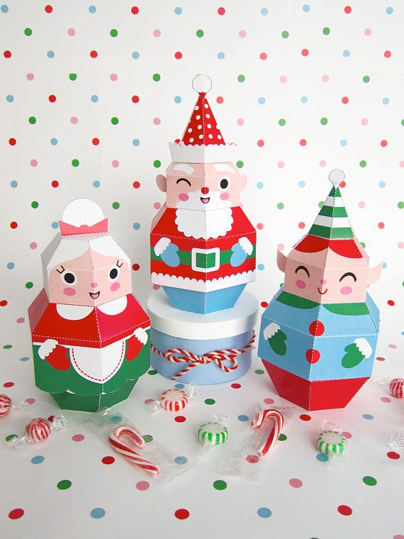 Pretty Paper Christmas Craft & Decoration Ideas_58