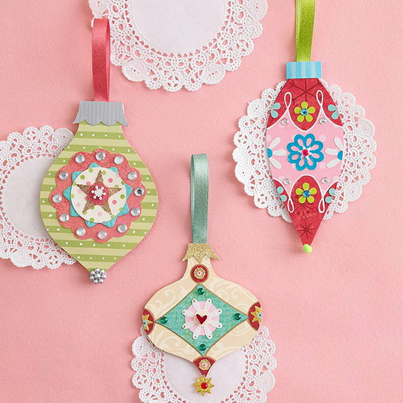 Pretty Paper Christmas Craft & Decoration Ideas_63