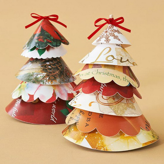 Pretty Paper Christmas Craft & Decoration Ideas_66