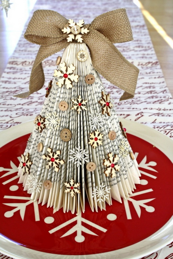 Pretty Paper Christmas Craft & Decoration Ideas_67