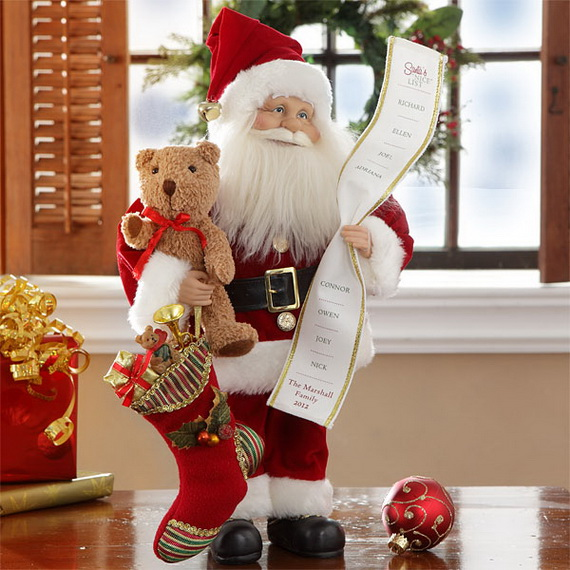 Share the joy of Christmas with Santa Claus decoration ideas _10 (2)