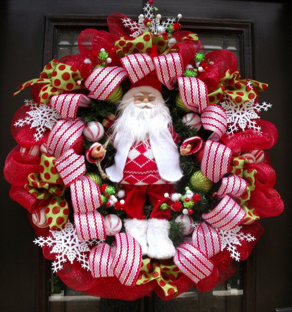 Share the joy of Christmas with Santa Claus decoration ideas _16 (2)