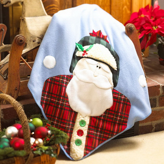 Share the joy of Christmas with Santa Claus decoration ideas _20