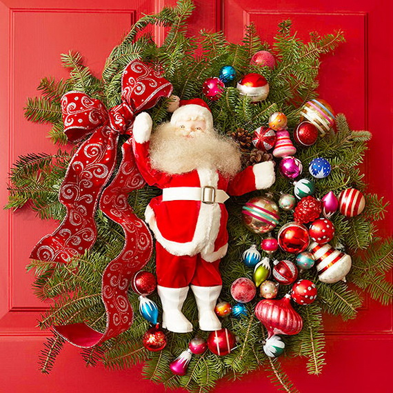 Share the joy of Christmas with Santa Claus decoration ideas _23