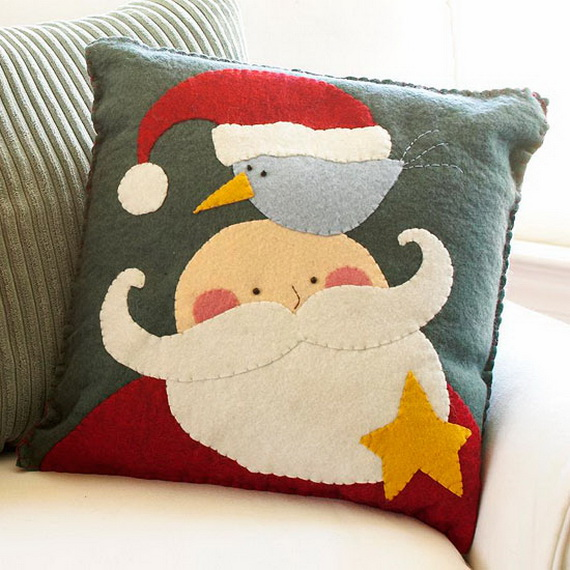 Share the joy of Christmas with Santa Claus decoration ideas _28