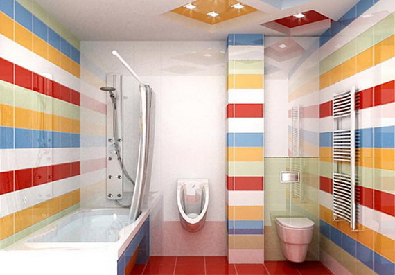 Stylish Bathroom Design Ideas for Kids 2014_03
