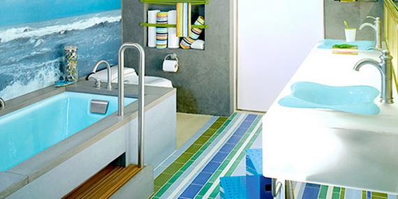 Stylish Bathroom Design Ideas for Kids 2014_04