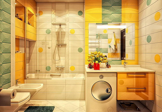 Stylish Bathroom Design Ideas for Kids 2014_05