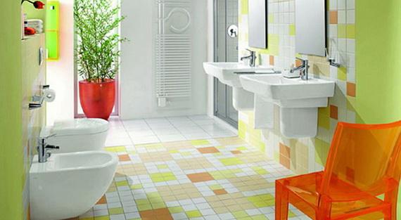 Stylish Bathroom Design Ideas for Kids 2014_06