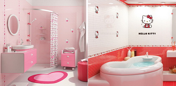Stylish Bathroom Design Ideas for Kids 2014_08