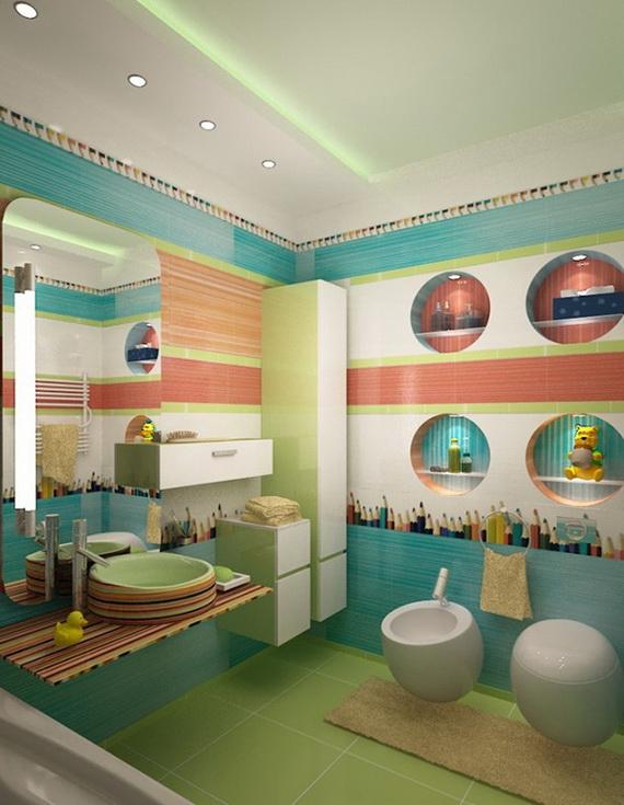 Stylish Bathroom Design Ideas for Kids 2014_13