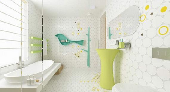 Stylish Bathroom Design Ideas for Kids 2014_16