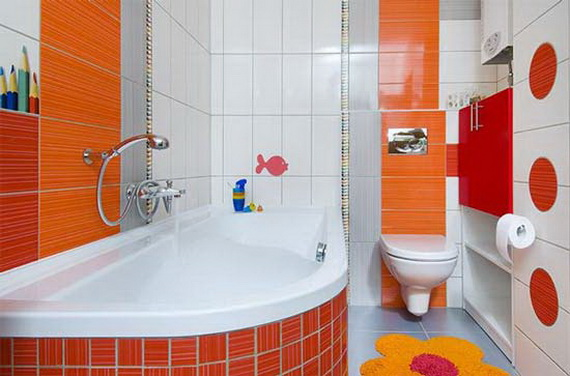 Stylish Bathroom Design Ideas for Kids 2014_18